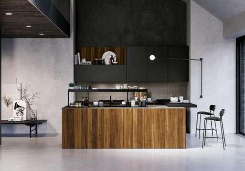 perché scegliere una cucina scura