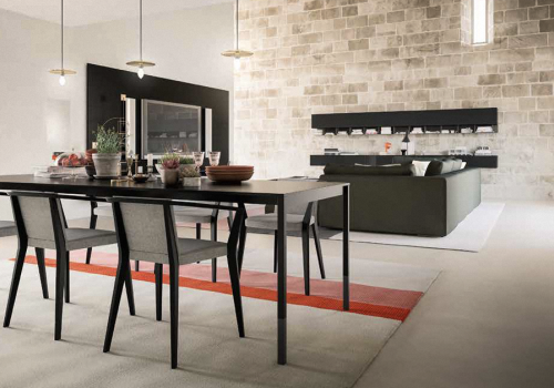 sala da pranzo moderna stile